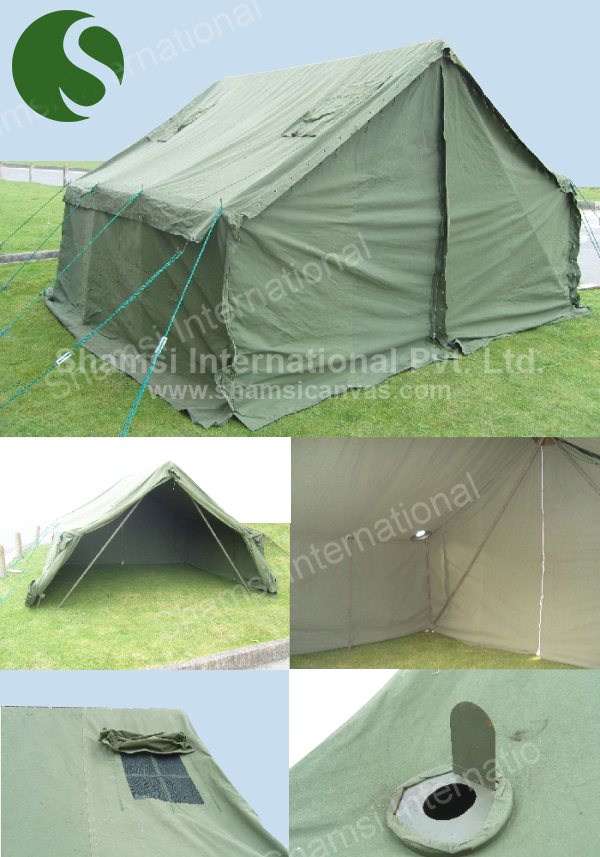 Army Tent & 160 Pounder Tent