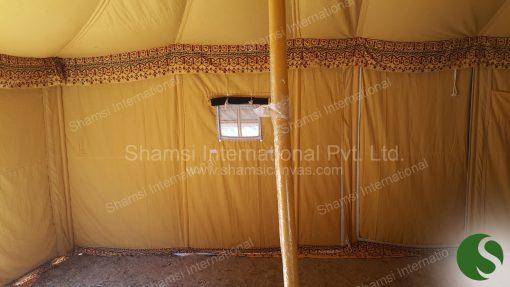 round deluxe tent