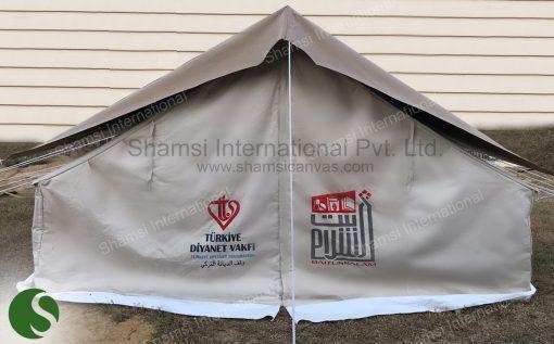 winterized double tent